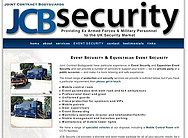 JCB Security Ltd - Revamped Website for 2008