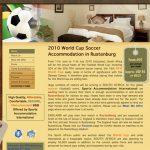 Website Design for Worldcupfootballrustenburg.com