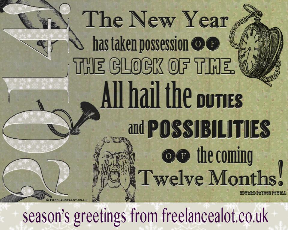 Season's Greetings from Freelancealot