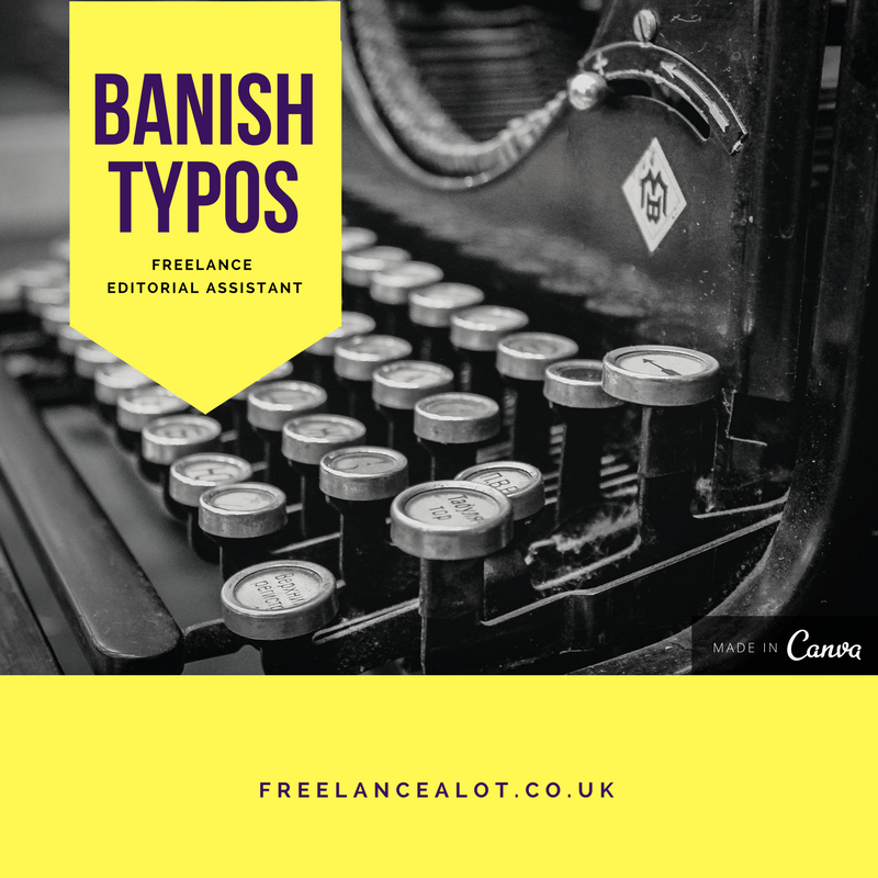 Banish Typos, Freelance Editorial Service