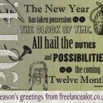 2014 New Year Card Design