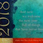 2018 New Year Card Design