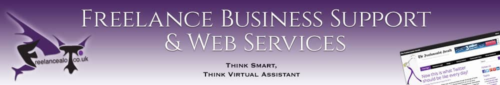 Freelance Business Support & Web Services